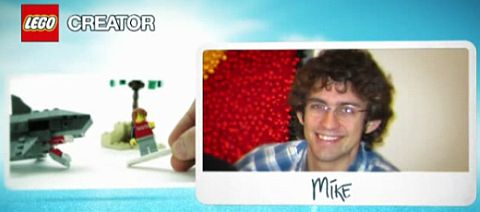 LEGO Designer Mike