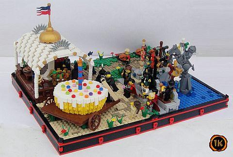 LEGO Grid Base by Geneva