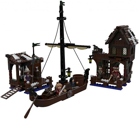 LEGO Hobbit Lake Town Chase Set