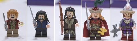 LEGO Hobbit Lake Town Minifigures
