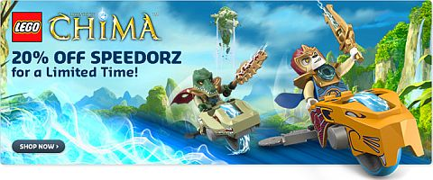 LEGO Legends of Chima Banner
