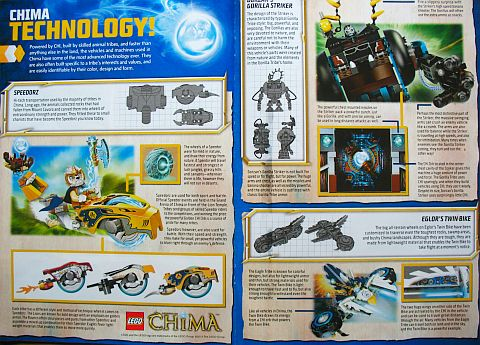 LEGO Legends of Chima Chi Technology