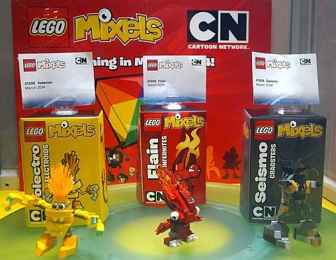 LEGO Mixel Sets