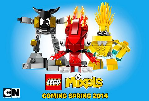 LEGO Mixels Website