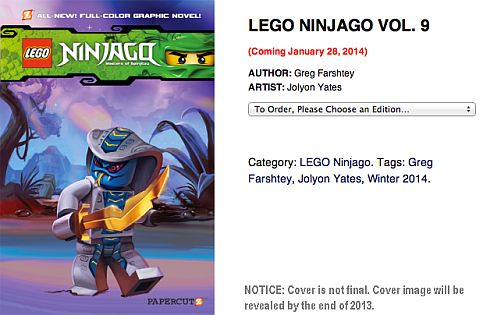 LEGO Ninjago Book Volume 9