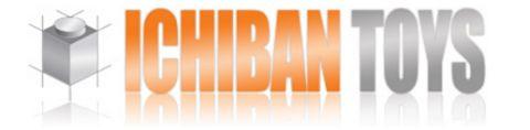 LEGO Store Ichiban Toys Logo