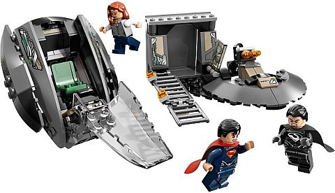 LEGO Superman Black Zero Escape Pod