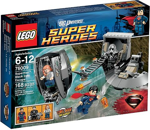 LEGO Superman Black Zero Escape Review