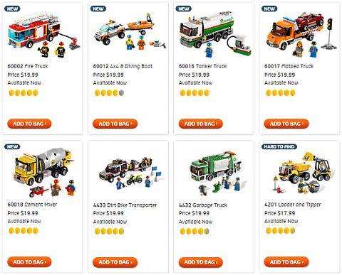 Shop for LEGO City Sets