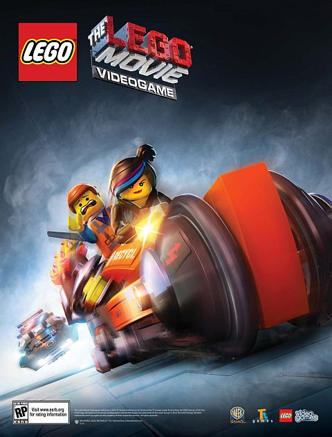 The LEGO Movie Video Game Poster