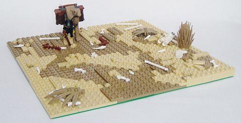 Using LEGO Baseplates