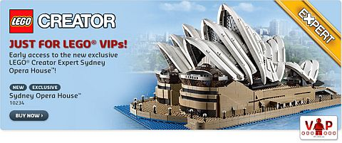 #10234 LEGO Sydney Opera House Available Now