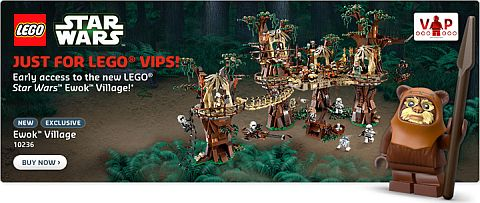 #10236 LEGO Star Wars Ewok Village Available Now
