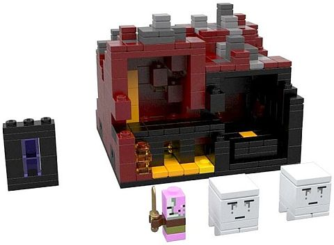 #21106 LEGO Minecraft The Nether