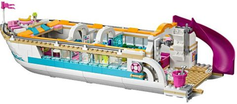 #41015 LEGO Friends Dolphin Cruiser Details