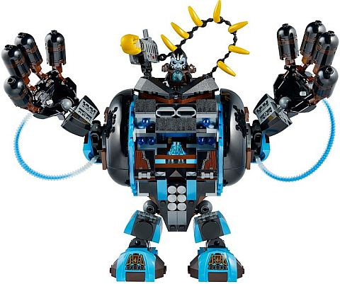 #70008 LEGO Legends of Chima Gorzan's Gorilla Striker Review
