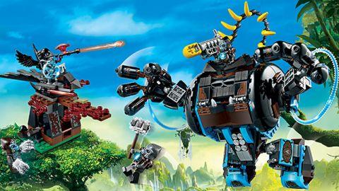 #70008 LEGO Legends of Chima Gorzan's Gorilla Striker