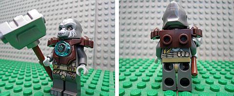 #70008 LEGO Legends of Chima Grumlo