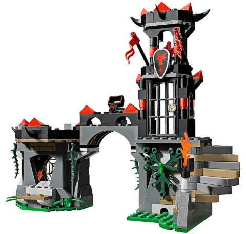 #70403 LEGO Castle Dragon Mountain Details