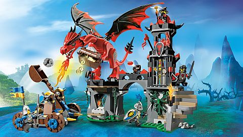#70403 LEGO Castle Dragon Mountain