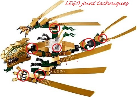 #70503 LEGO Ninjago Golden Dragon Joint Techniques