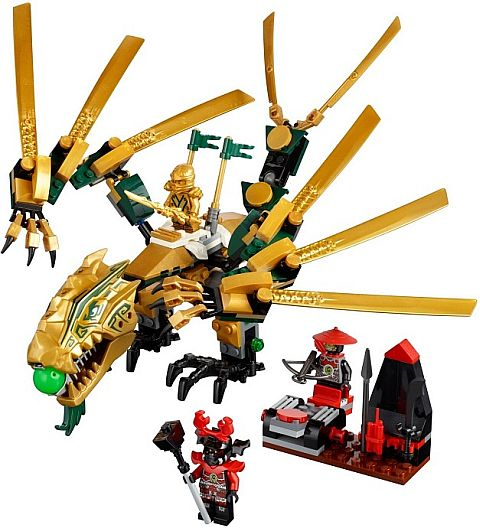 #70503 LEGO Ninjago Golden Dragon Review