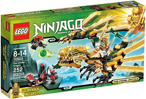 #70503 LEGO Ninjago Golden Dragon