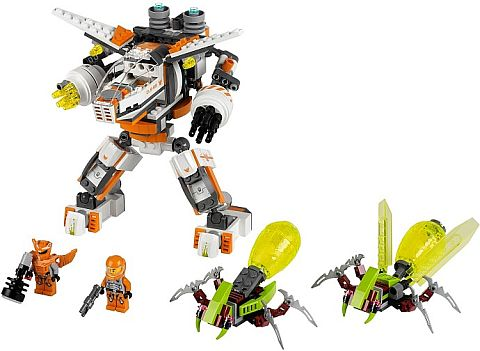#70707 LEGO Galaxy Squad Eradicator Mech Details