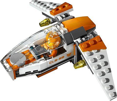 #70707 LEGO Galaxy Squad Eradicator Mech Galaxy Jet
