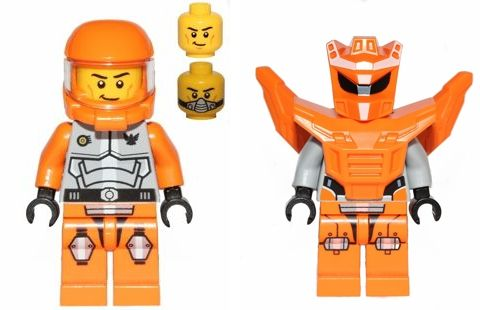 #70707 LEGO Galaxy Squad Orange Team