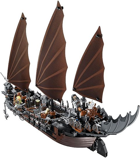 #79008 LEGO Lord of the Rings Pirate Ship Ambush Back View