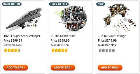 BUY #10236 LEGO Star Wars Ewok Village