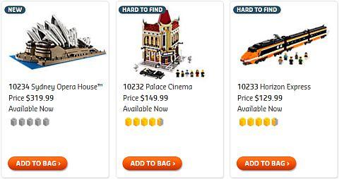 Buy #10234 LEGO Sydney Opera House