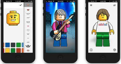 LEGO App Mini Me Screenshots