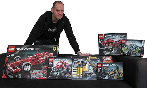 LEGO Book - Amazing Vehicles Author Nathanael Kuipers