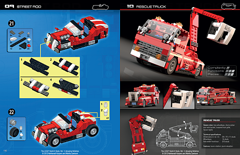 LEGO Book - Amazing Vehicles Details