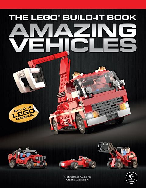 LEGO Book - Amazing Vehicles Volume 1