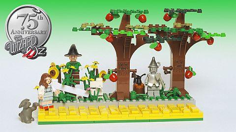 LEGO CUUSOO Wizard of Oz Details