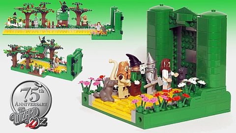 LEGO CUUSOO Wizard of Oz Emerald Gate