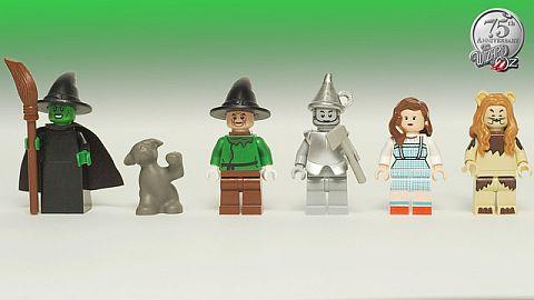 LEGO CUUSOO Wizard of Oz Minifigures