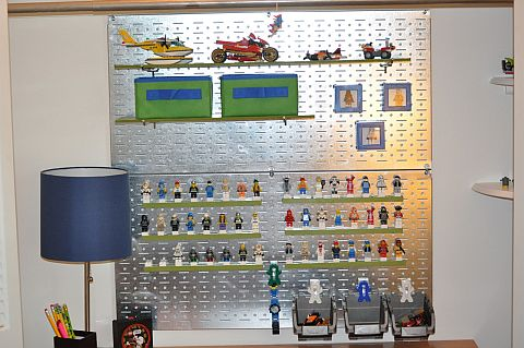 LEGO Closet Display