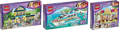 LEGO Friends Summer Sets
