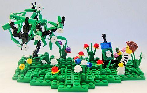 LEGO Landscaping by Geneva