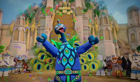 LEGO Legends of Chima Characters - Peacock