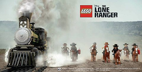 LEGO Lone Ranger Sets on Sale