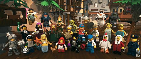 LEGO Minifigures MMO Game Picture 2