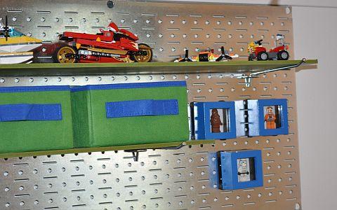 LEGO Room - LEGO Closet Details