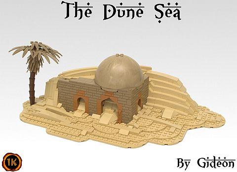 LEGO Sand Technique by Gideon