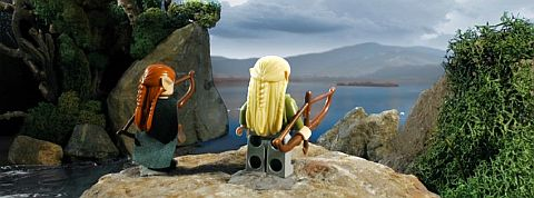 LEGO The Hobbit - The Desolation of Smaug Trailer