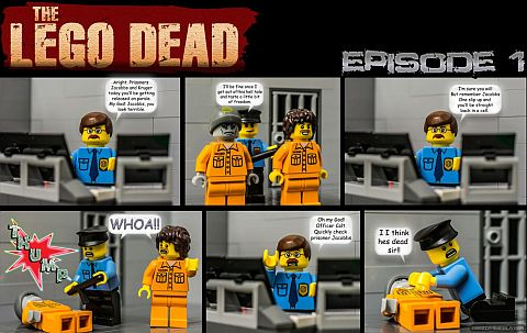 LEGO comics - The LEGO Dead Episode 1
